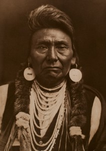 Chief Joseph, Nez Perce, 1903
